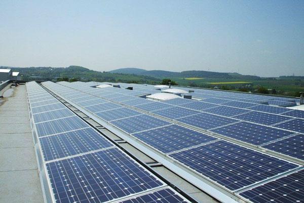 Photovoltaik Flachdach